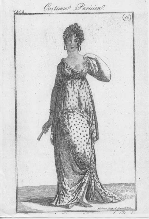 Sassy Regency lady