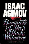 Banquets of the Black Widowers, Isaac Asimov, cover by Al Nagy