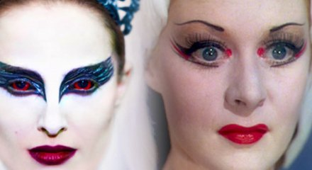 Natalie Portman and Moira Shearer's dramatic makeup
