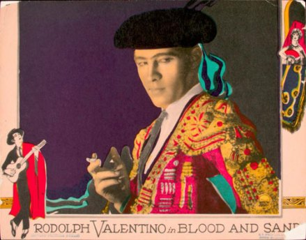 Rudolph Valentino, toreador
