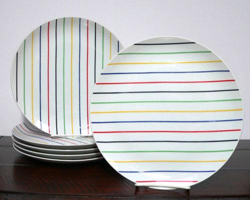 Georges Briard Palette dinner plates