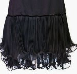 Miss Elliette small black flapper dress