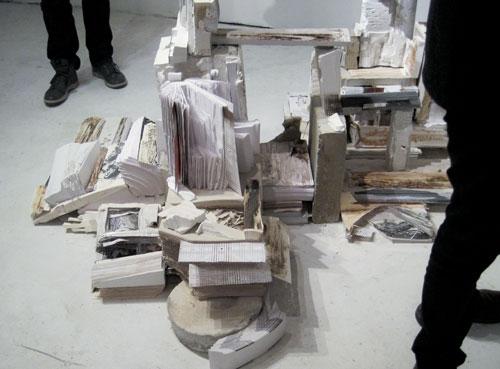 Emily Henretta's work in scale, Columbia Open Studios