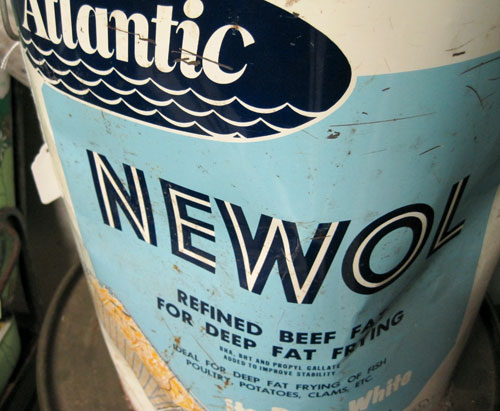 Newol frying oil can