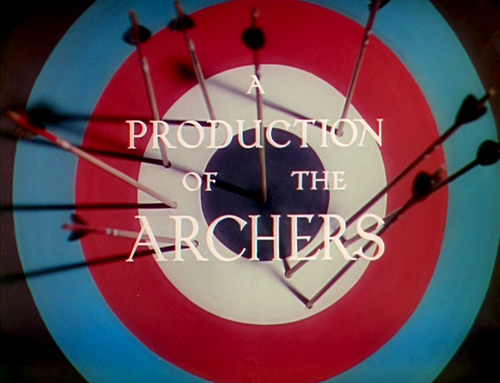 Archers Production type from The Red Shoes