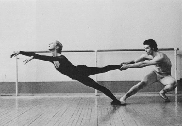 Alla Osipenko in rehearsal
