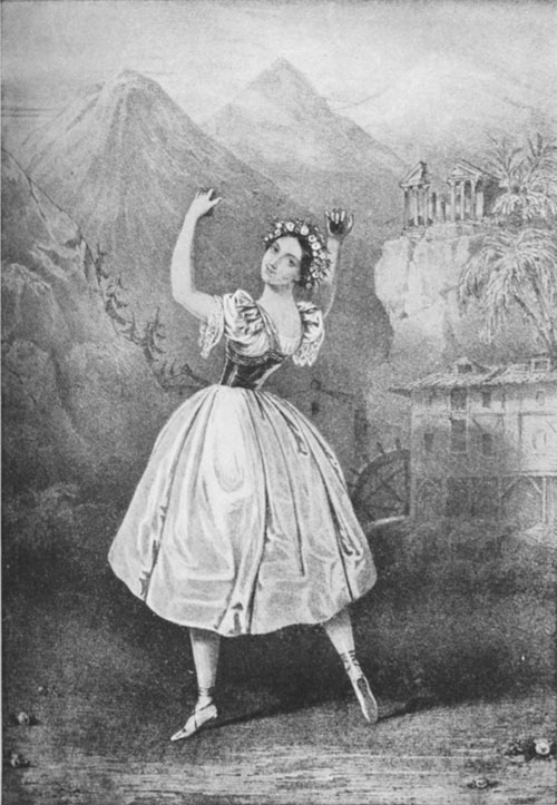 Fanny Elssler in Beaumont's Complete Book of Ballets