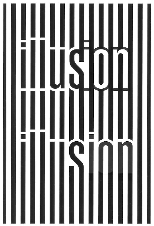 "Scott Kim ""Illusion"" ambigram"