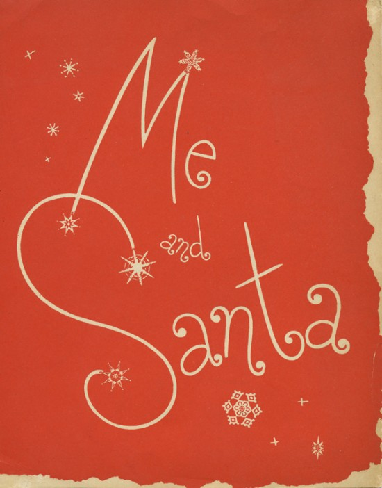 Me and Santa picture cover