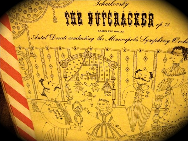 Nutcracker candy-striped LP