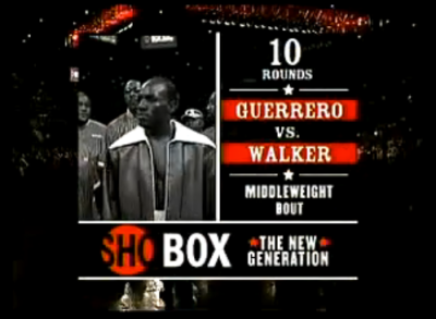 Guerrero vs. Walker ShoBox graphic