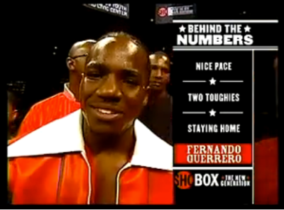Guerrero ShoBox numbers graphic