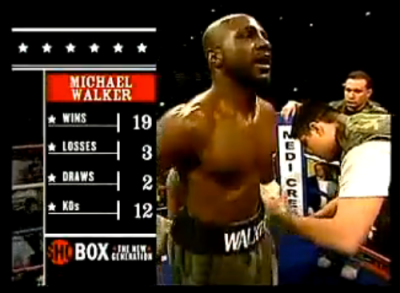 Walker ShoBox fight history graphic