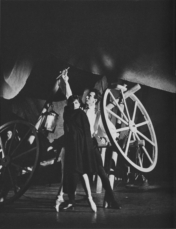 "Zizi Jeanmaire in Petit's ""Carmen"" Scene IV"