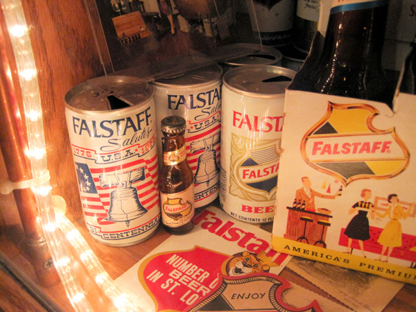 Falstaff Beer 1976 Bicentennial can at Schlafly Bottleworks