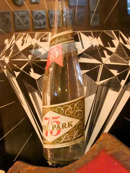 Hyde Park Beer 75-year Jubilee packaging at Schlafly Bottleworks