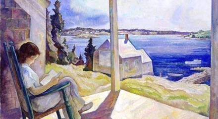 Portrait of Ann Reading, N. C. Wyeth, ca. 1930