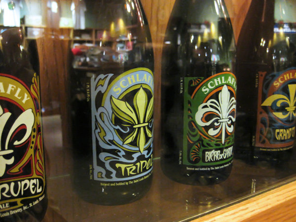 Schlafly Belgian beer bottles, final designs