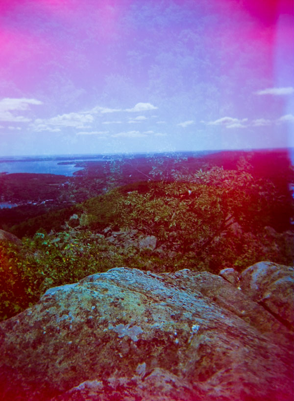 """""""Renascence"""": Back to where I'd started from, Holga double exposure"""