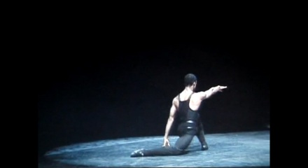 Desmond Richardson performs Ulysses Dove's choreography (youtube still)