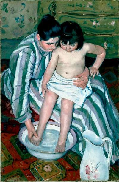"Mary Cassatt, ""The Child's Bath"""