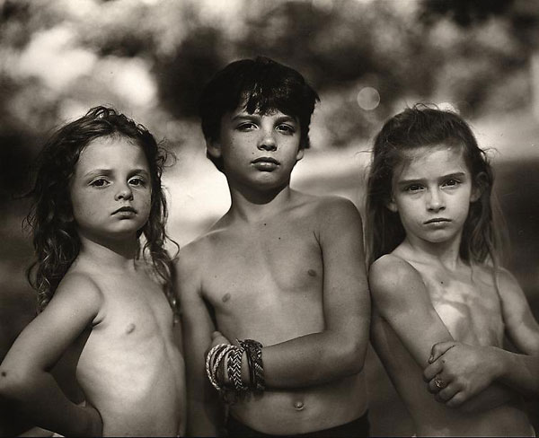 """Emmett, Jessie, Virginia"" from Sally Mann's ""Immediate Family"" series, 1989"