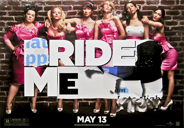 Altered Bridesmaids movie poster, Nassau Avenue G, 2011