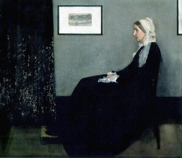 """Arrangement in Grey and Black: Portrait of the Painter's Mother,"" James McNeill Whistler"