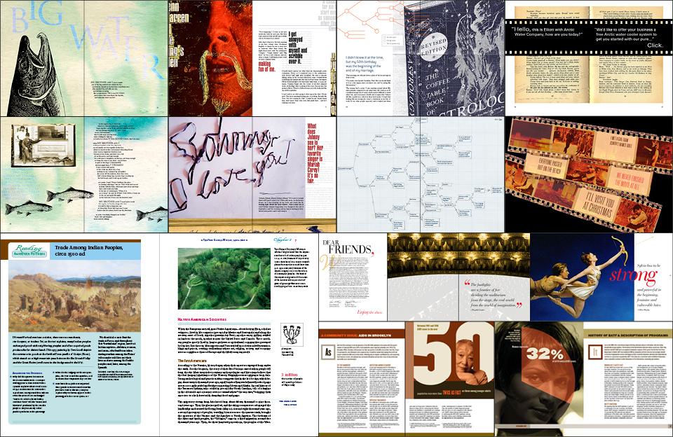 Graphic Design Editorial Portfolio